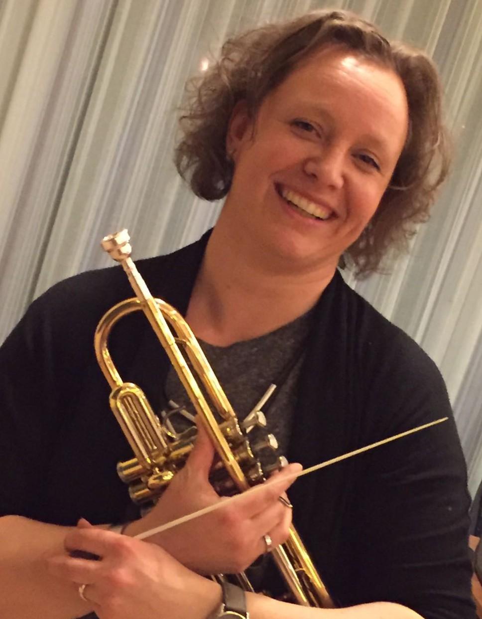 Nieuwe dirigent: Inge Donker